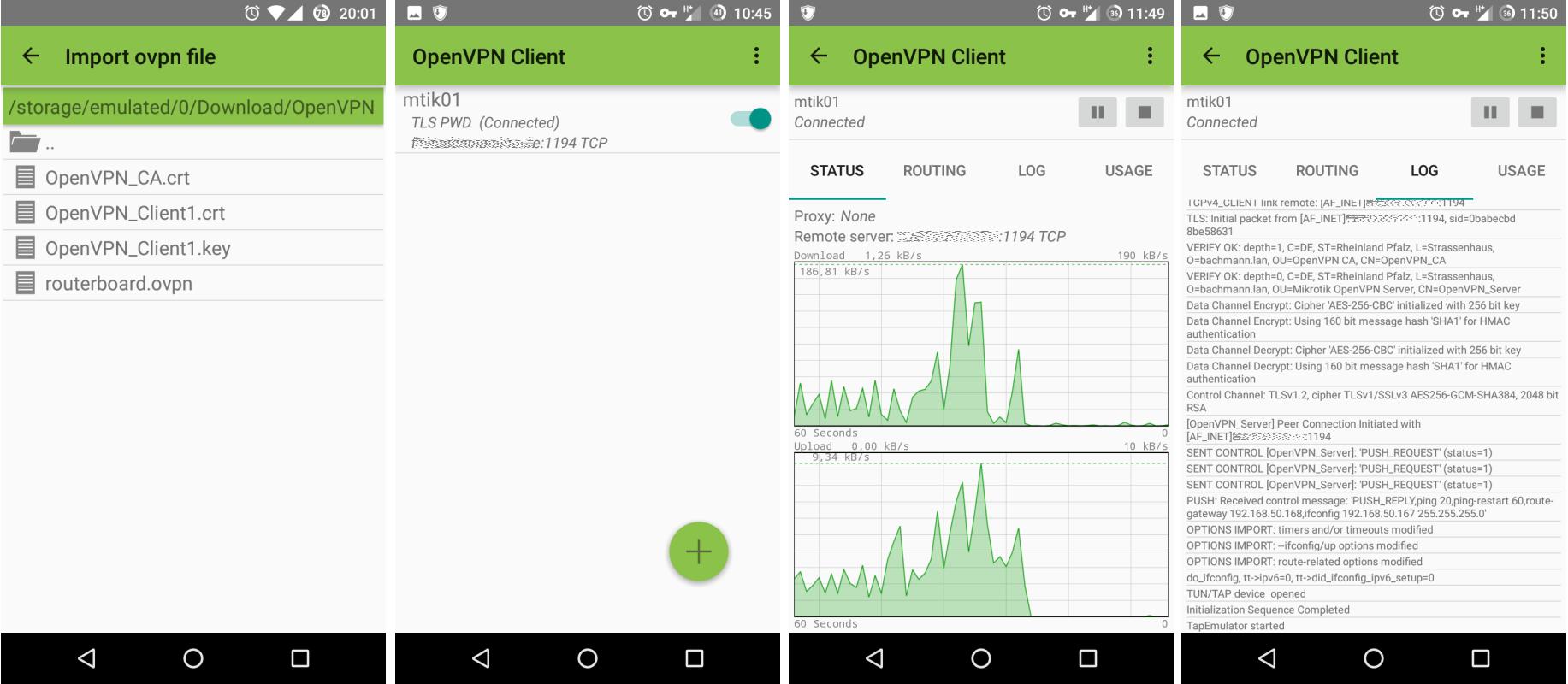 mikrotik-android-openvpnclient